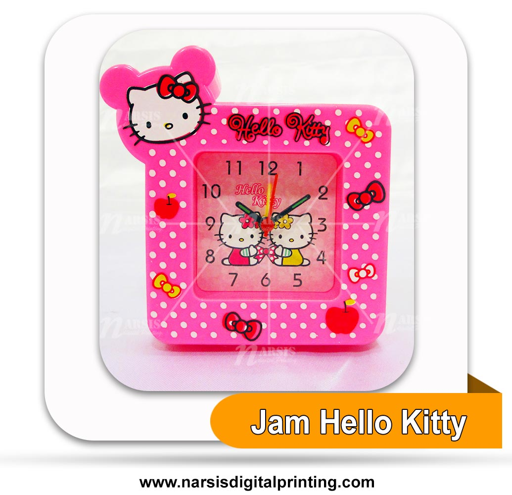 Jam Hello Kitty persegi